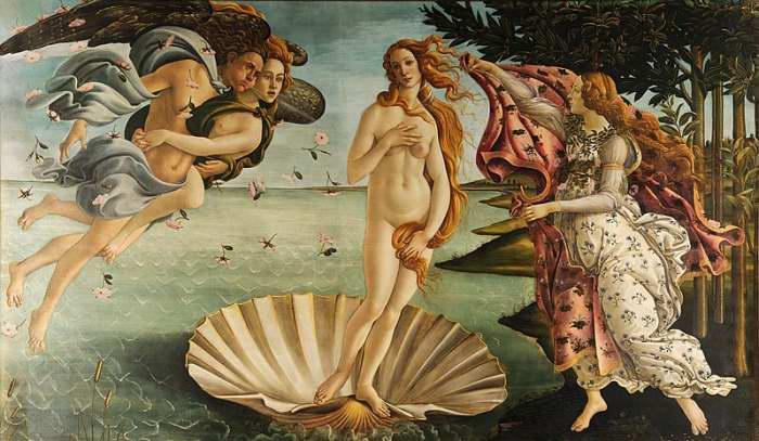 Diosa del amor Afrodita