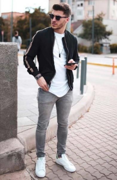 outfit casual de hombre para la primera cita
